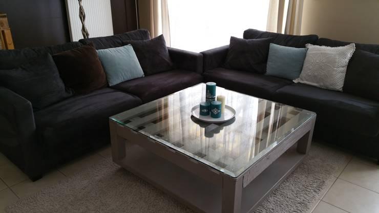 faire un table basse carree. Black Bedroom Furniture Sets. Home Design Ideas