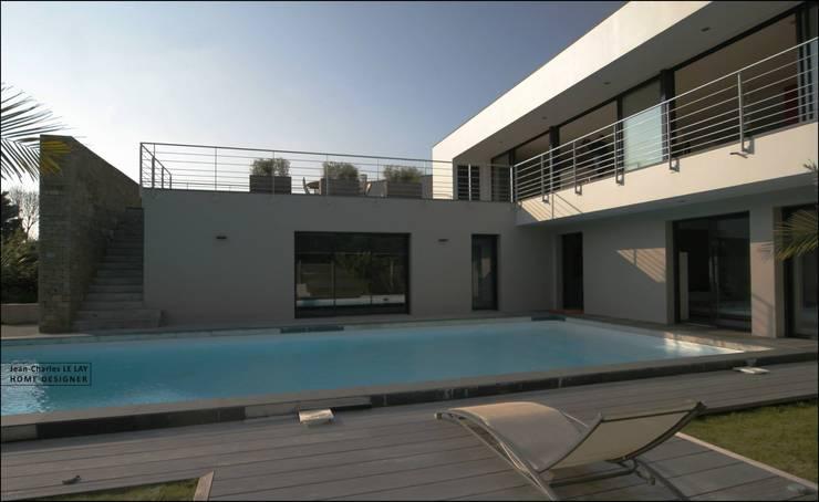 Waarom huizen met een plat dak het coolste zijn - Moderne woning buiten lay outs ...