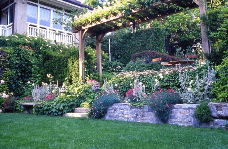 Pergolati e tettoie in giardino quali permessi servono - Idee per piccolo giardino ...