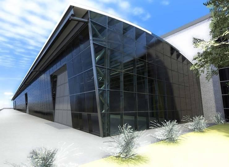 Ampliamento capannone produttivo di studio ing elisa for Case in stile capannone