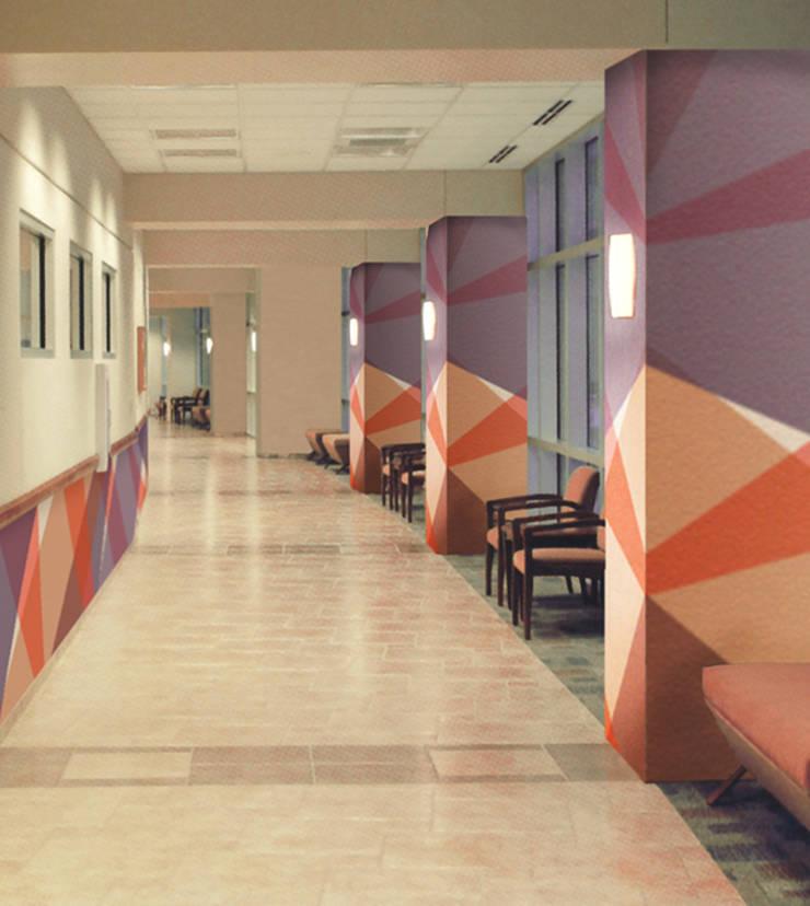 Dekorativer Wandschutz und Rammschutz von tela-design | homify