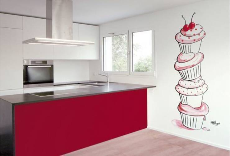 32 painted kitchen wall designs - Murales para cocinas ...