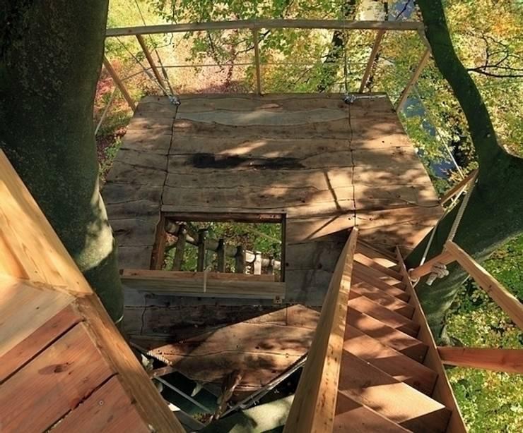Kinderzimmer Im Baumhaus Style : Baumhaus im schlosspark von luftschl?sser homify