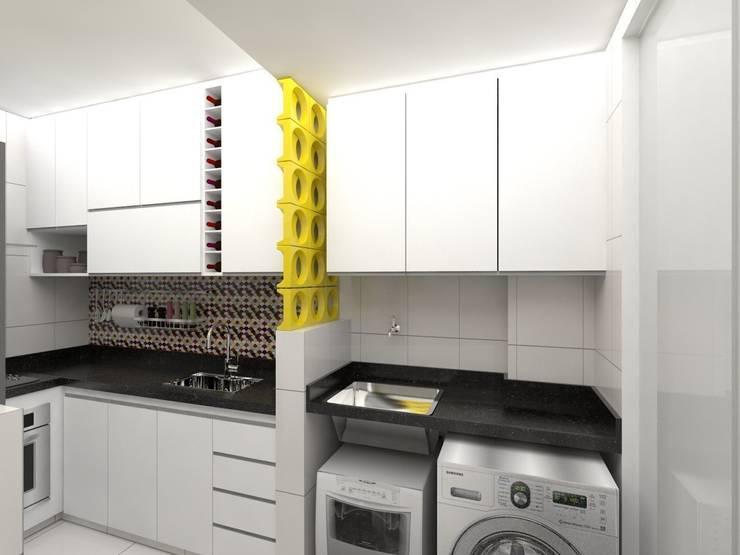 Aparador Aliança ~ Wibamp com Armario De Cozinha Planejado Branco E Preto ~ Idéias do Projeto da Cozinha para a
