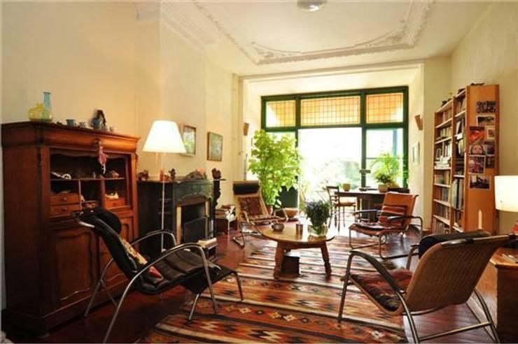Voor en na de renovatie van een oud herenhuis for Oud herenhuis interieur