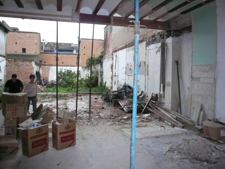 Reforma integral casa de pueblo de aris paco cam s homify - Reforma integral casa de pueblo ...
