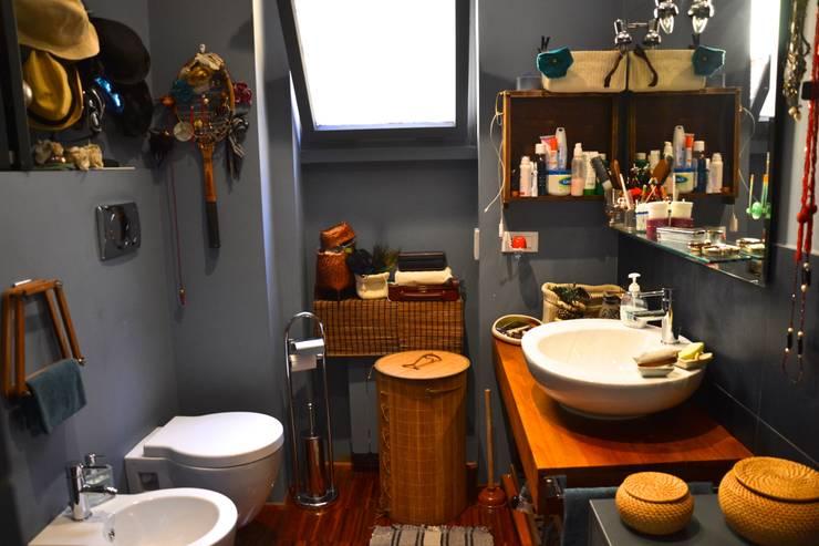 Badkamer voor de bohemien - Ongewoon behang ...