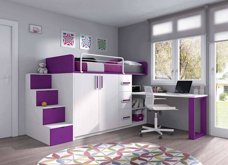 Dormitorios infantiles modernos para ni os con estilo - Dormitorios infantiles modernos ...