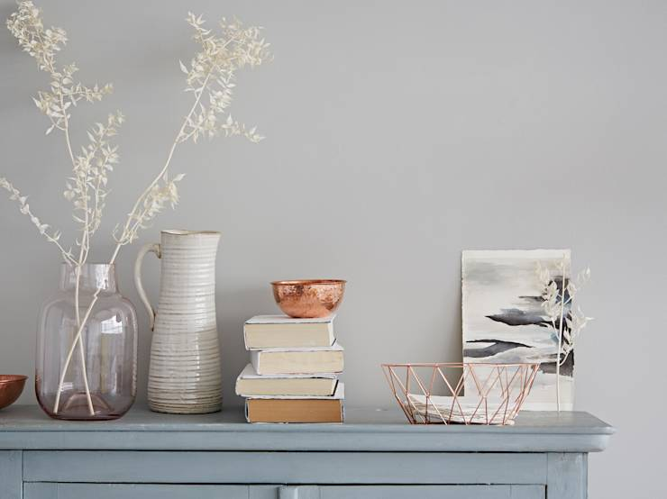 Copper Living: eclectic Living room by rigby & mac