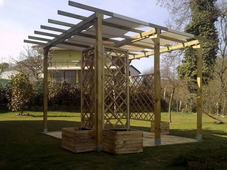 10 idee per un piccolo giardino incantanto - Pergolati da giardino ...