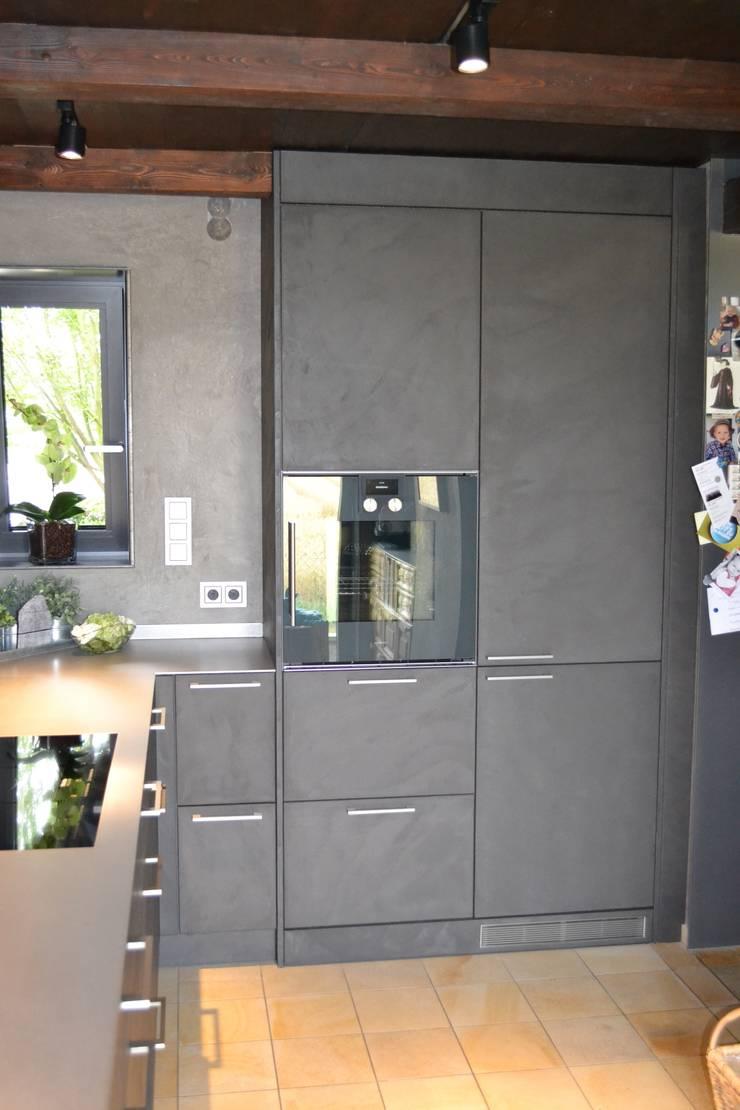 eggersmann Beton mit 5 mm Edelstahl von Wohn- und Küchendesign ...