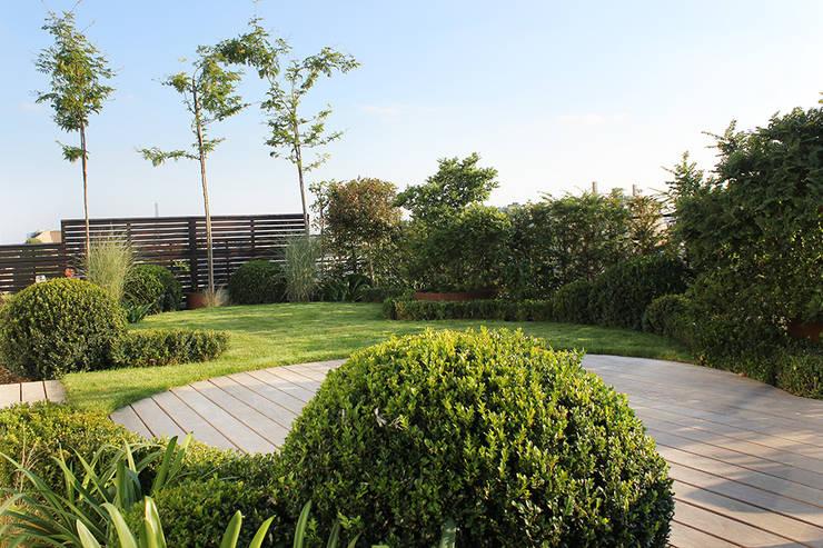 Un jardin suspendu par fiorellino paysagiste homify - Terrasse jardin suspendu montreuil ...