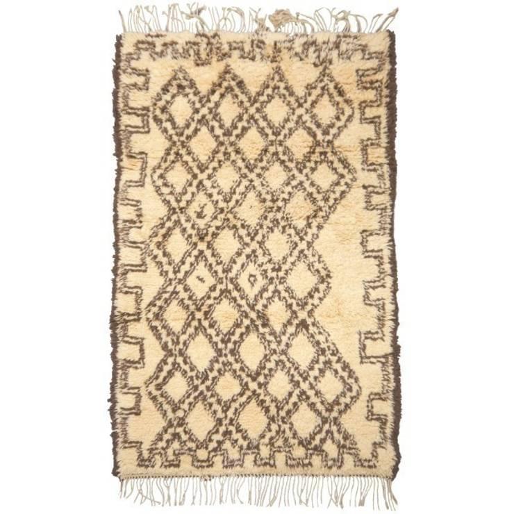 14250 Beni Ouarain  Ourain Berber Teppich Marokko 200 x