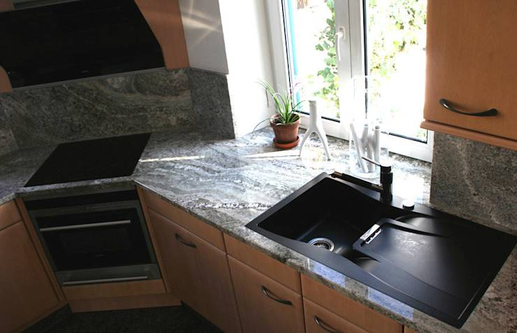 granit white fusion von wieland naturstein gmbh homify. Black Bedroom Furniture Sets. Home Design Ideas