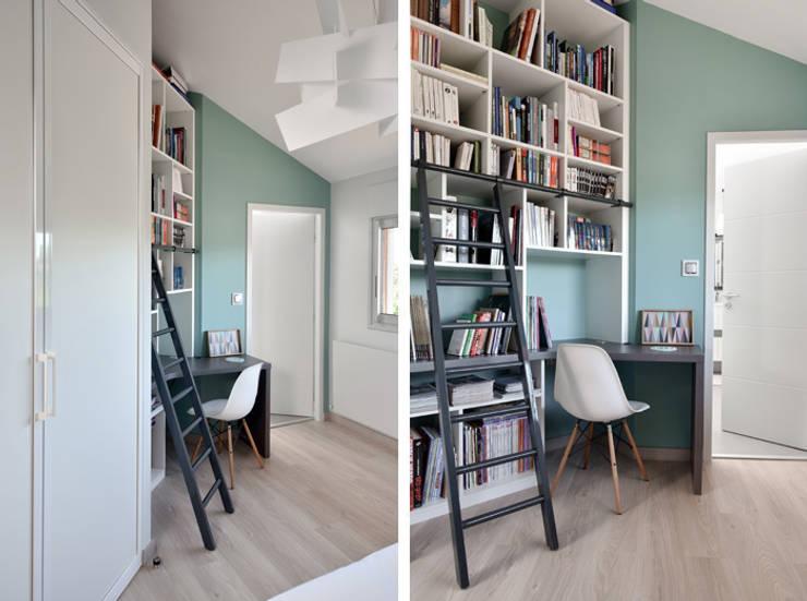 am nagement d 39 un appartement contemporain. Black Bedroom Furniture Sets. Home Design Ideas