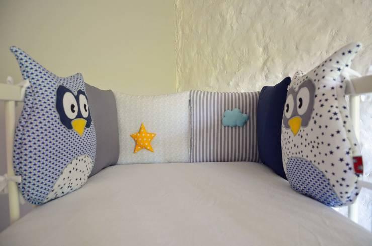 tour de lit b b collection 39 houhou 39 pour petit gar on par shanouk les petites mains homify. Black Bedroom Furniture Sets. Home Design Ideas