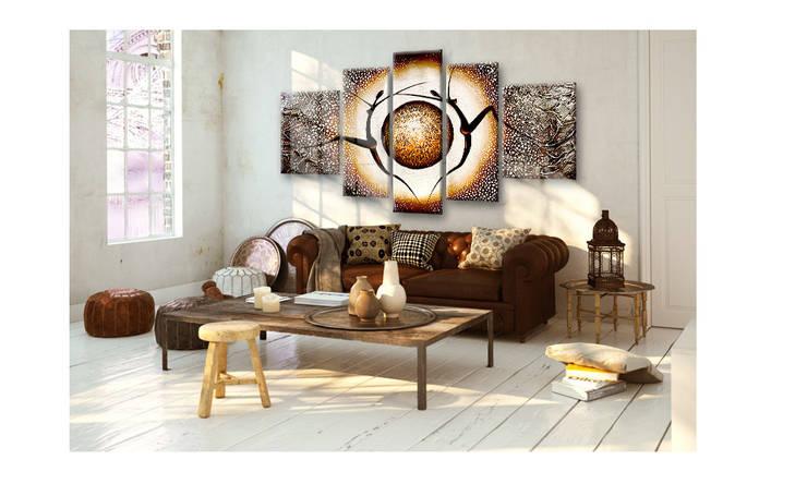 wie kann ich gro e r ume gem tlich einrichten. Black Bedroom Furniture Sets. Home Design Ideas