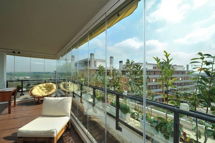 9 verande spettacolari per il tuo terrazzo for Tutto per il balcone