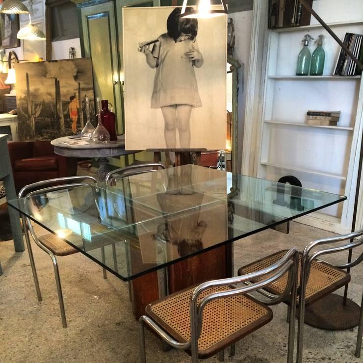 Il tavolo in cristallo raffinato ed elegante - Tavolo pranzo cristallo ...