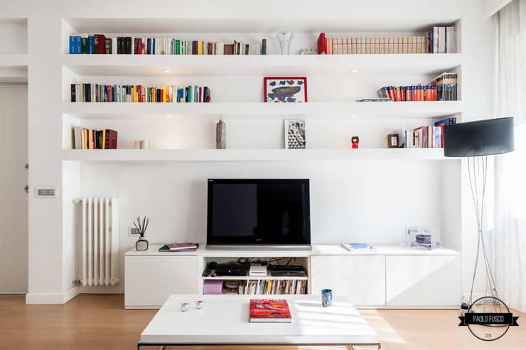 6 stili per 6 librerie diverse quale fa per te for Soggiorno minimalista