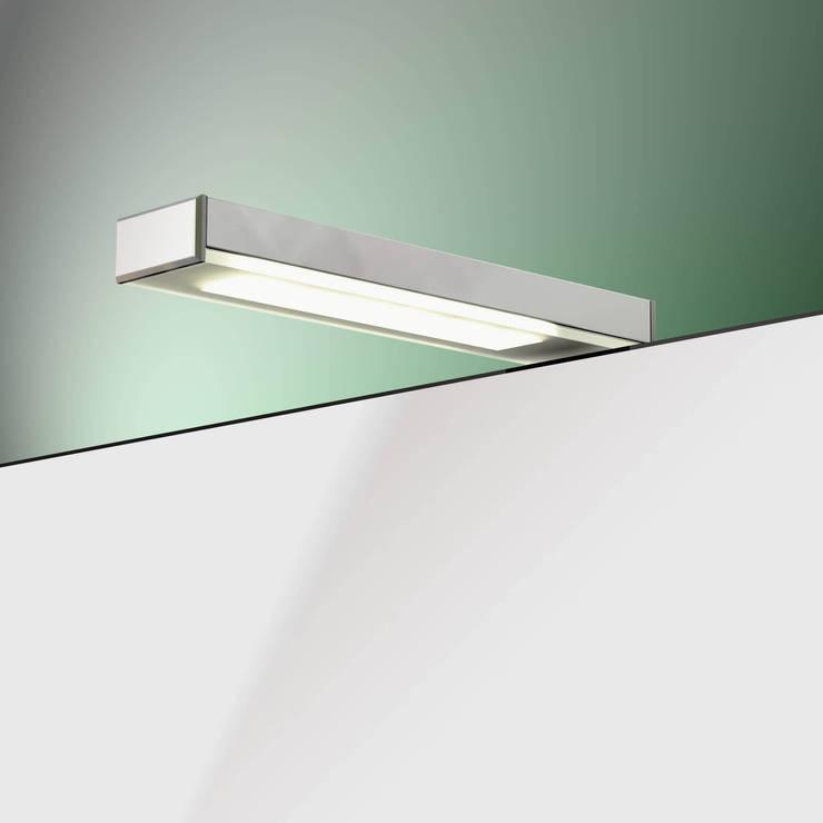 badspiegel mit spiegelleuchte von schreiber licht design. Black Bedroom Furniture Sets. Home Design Ideas