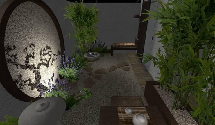 Jardines peque os trucos para ampliar espacios el for Jardines pequenos orientales