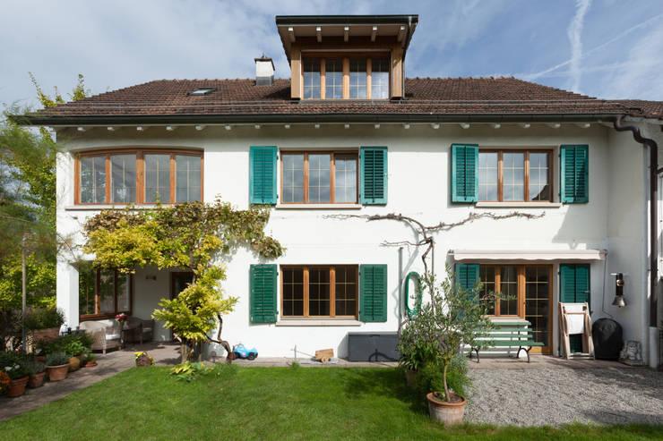 Gartenfassade moderne häuser von von mann architektur gmbh