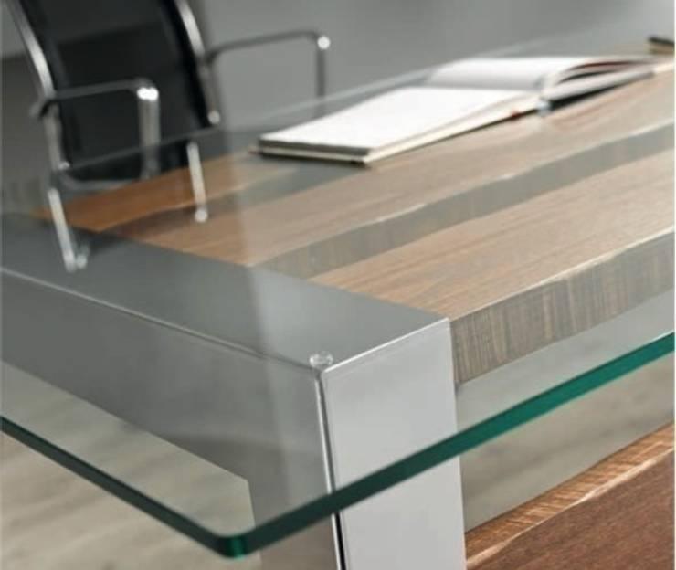mesas de comedor de madera y crista On mesa comedor disea o