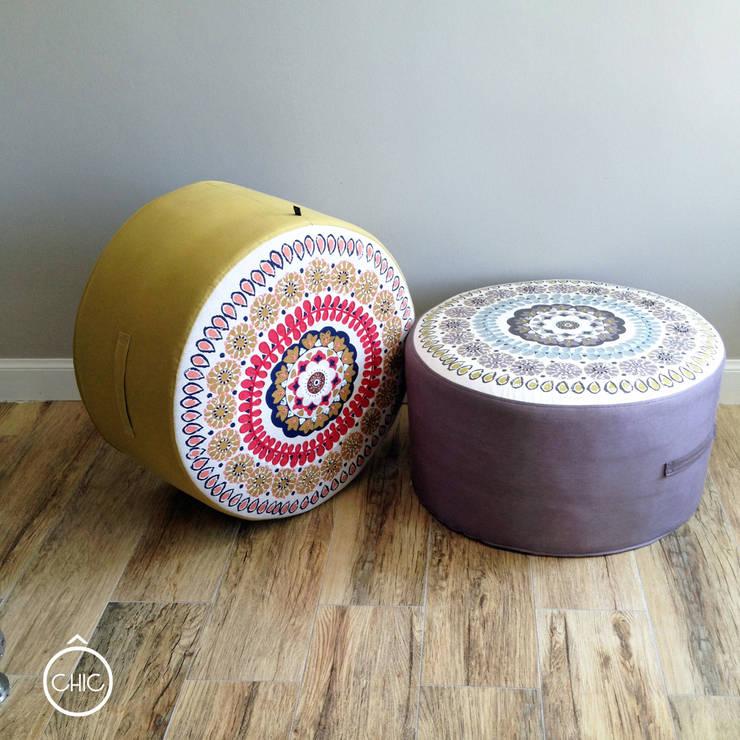 poufs boheme chic par chic deco homify. Black Bedroom Furniture Sets. Home Design Ideas