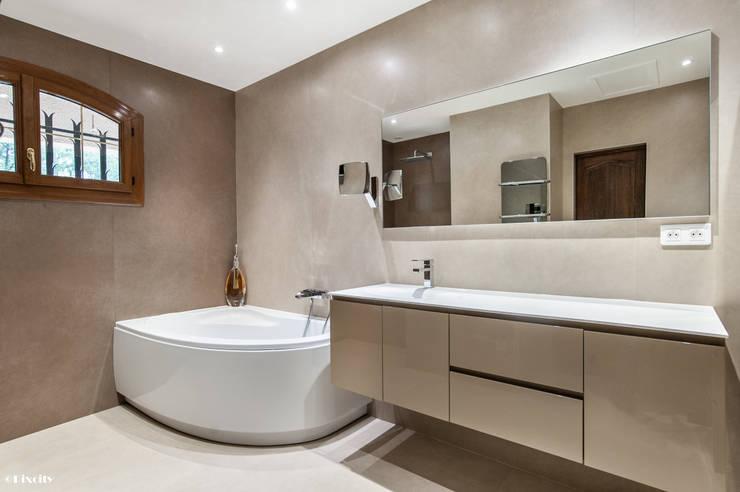 10 raisons d tre plut t baignoire ou douche - Exemple de salle de bain avec douche et baignoire ...