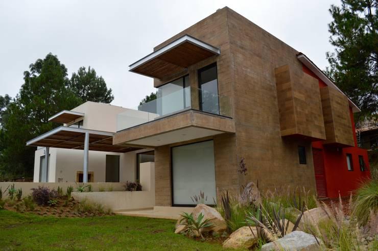 10 casas de concreto modernas y sensacionales for Casas estilo moderno