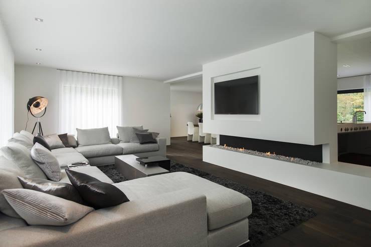 Luxe woonkamers inspiratie voor genieters - Ontwikkel een grote woonkamer ...