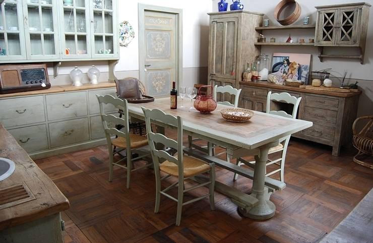 Cucine provenzali 7 idee romantiche ed evocative - Cucine stile country provenzale ...