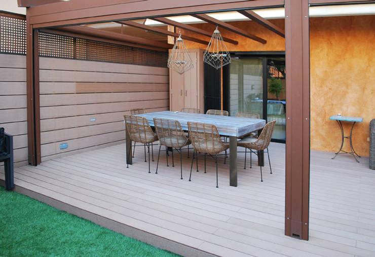 La utilidad de los armarios de exterior for Armario exterior terraza