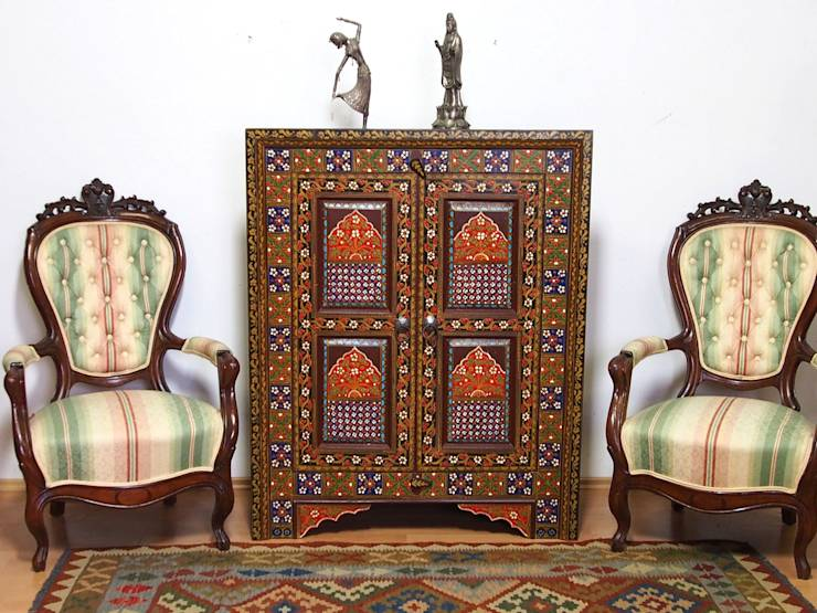orientalische m bel von kabul art galerie homify. Black Bedroom Furniture Sets. Home Design Ideas