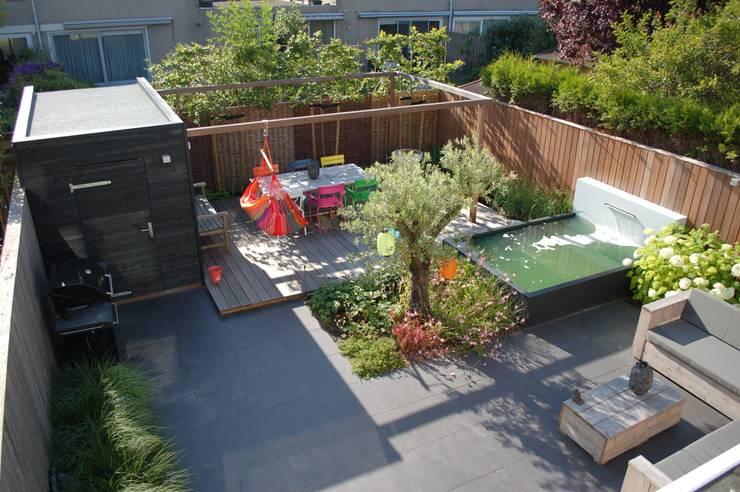 Strakke tuin ibiza style in amstelveen door biesot homify for Tuin beplanten