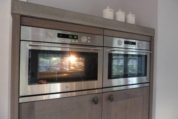 Landelijke Keukens De Lange : Project Achterhoek rustiek hout met beton door de Lange