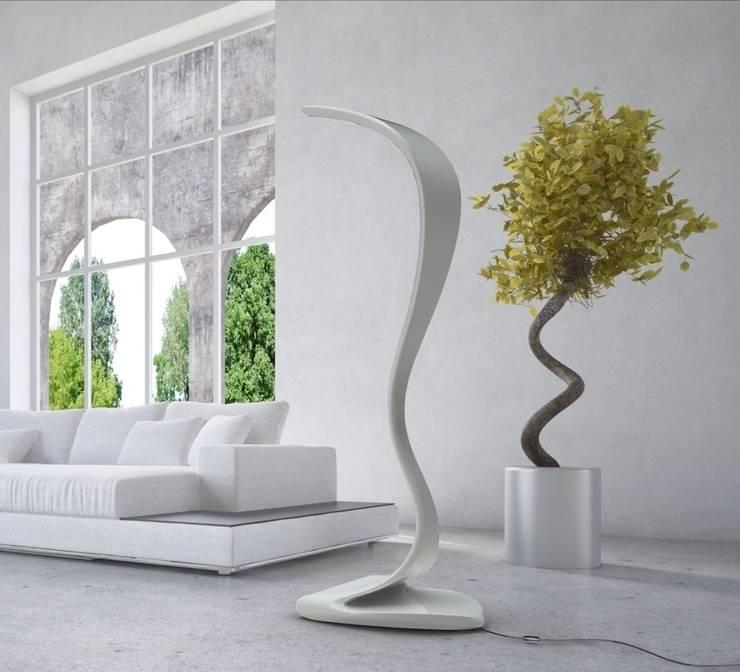 Lampada KOBRAH: Soggiorno in stile in stile Moderno di Studio Ferrante ...