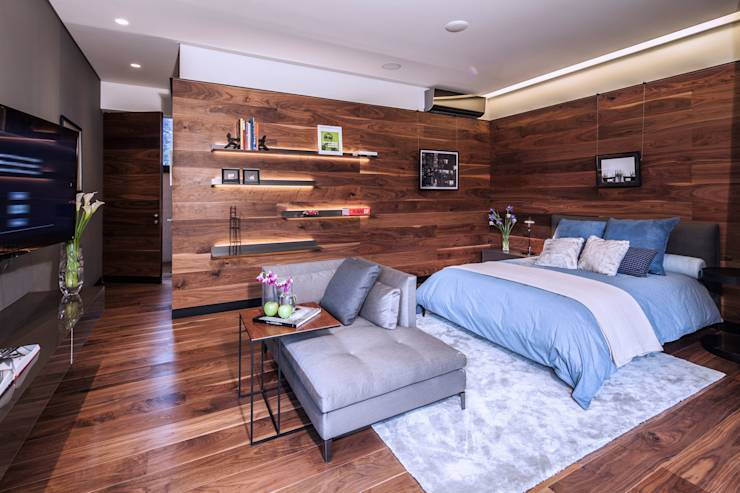 minimalistic Bedroom by grupoarquitectura