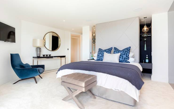 modern Bedroom by WN Interiors of Poole in Dorset