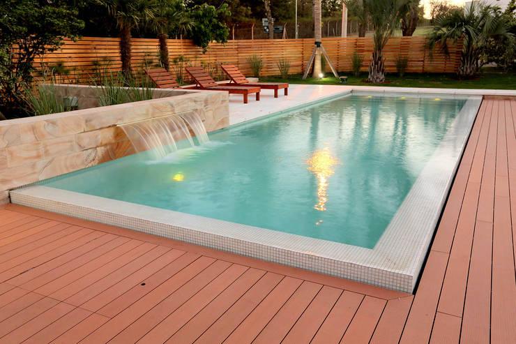 En 6 pasos construyendo una pileta en casa for Pileta piscina