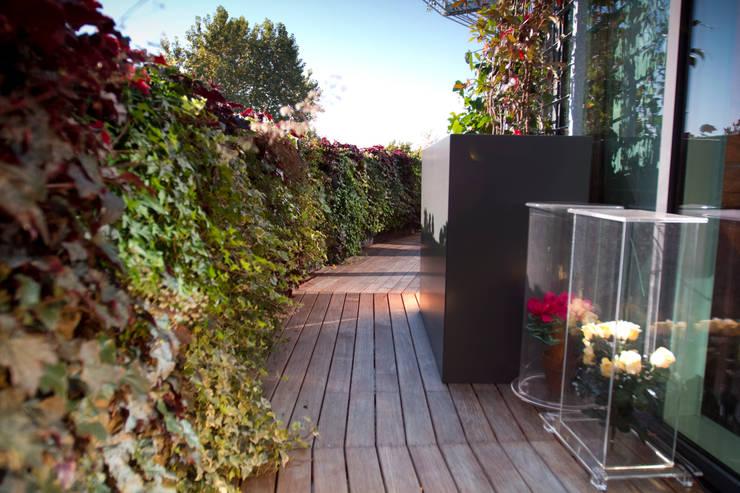 9 idee sensazionali per arredare il balcone la terrazza o for Giardino verticale balcone