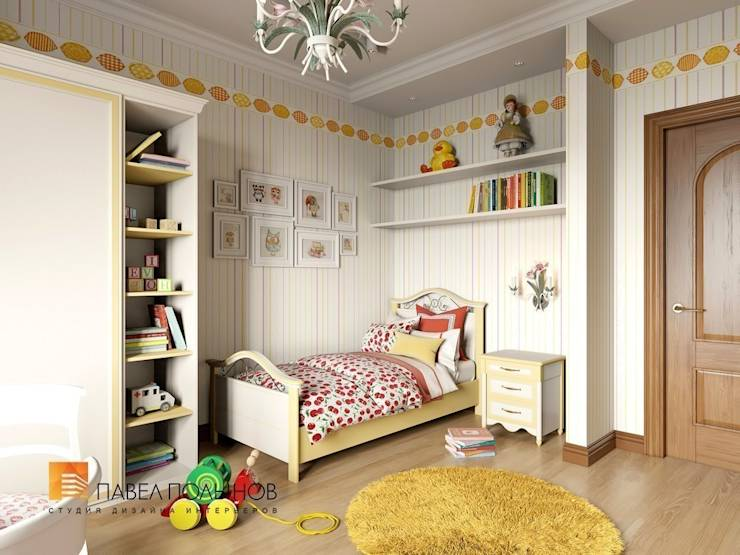 Quarto infantil translation missing: br.style.quarto-infantil.classico por Студия Павла Полынова