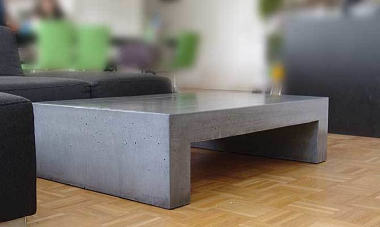 couchtisch aus beton tisch u der klassiker von form in funktion urbandesigners homify. Black Bedroom Furniture Sets. Home Design Ideas