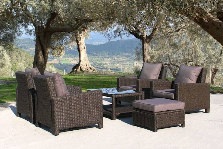 mediterrane g rten von gartenxxl homify. Black Bedroom Furniture Sets. Home Design Ideas