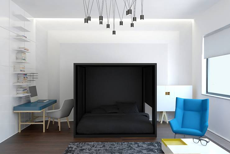 translation missing: eg.style.غرفة-نوم.minimalist غرفة نوم تنفيذ Nox