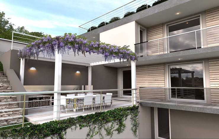 Terrazas 10 p rgolas y cerramientos espectaculares - Barbacoa para terraza ...