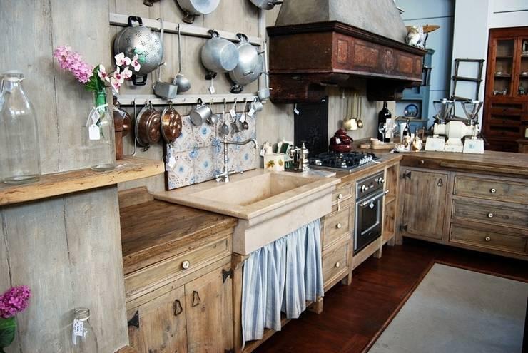 7 bachas de cocinas modernas pero con un toque r stico for Piletas de cocina uruguay