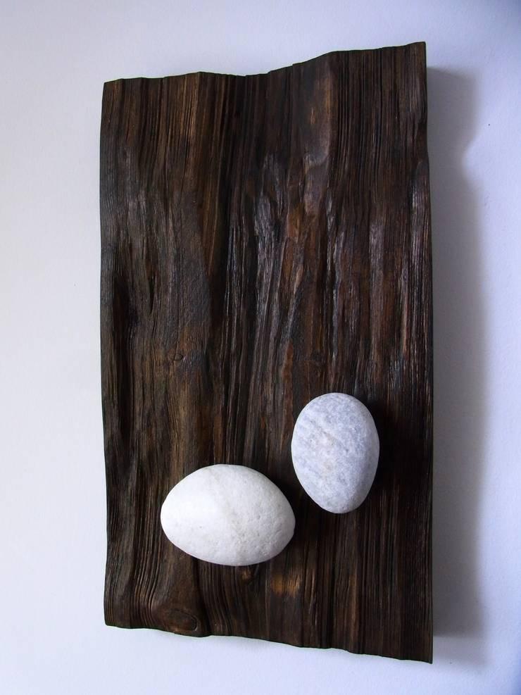 holzbilder mit aufgesetztem eisen holz stein von bernd. Black Bedroom Furniture Sets. Home Design Ideas