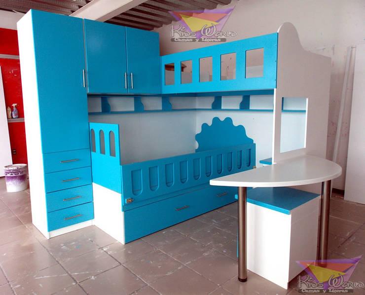 Literas y muebles juveniles de camas y literas infantiles for Literas juveniles con escritorio